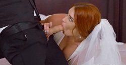 Padrinho comendo noiva