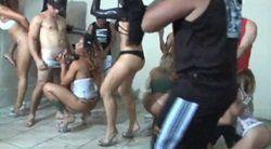 Orgia com brasileiras