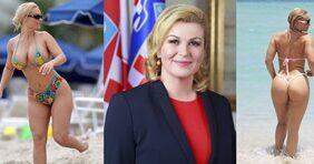 Caiu Na Net Presidente Da República Da Croácia