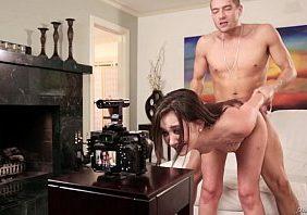 Porno romantico priminha virgem gozando