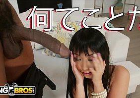 Pornografia chinesa safada chupando pau negro