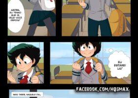 Boku no Hero Hentai personagens fodendo