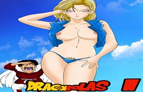 Dragon Bolas! Android 18 louca por sexo!