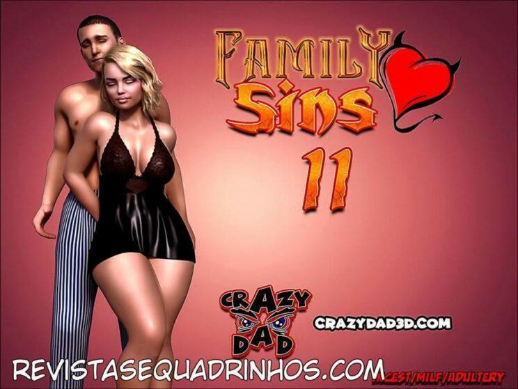 Family Sins 11 (PT-BR) – Crazy Dad Completo!